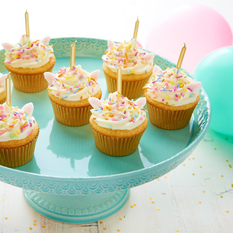 Cupcake Cake Ideas: Unicorn Cupcakes Recipe