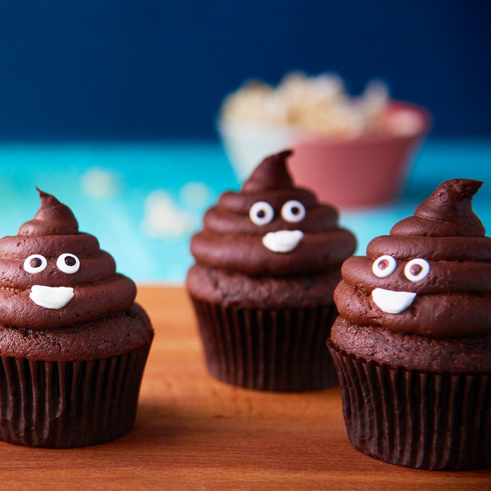 Poop Emoji Cupcakes Recipe Eatingwell