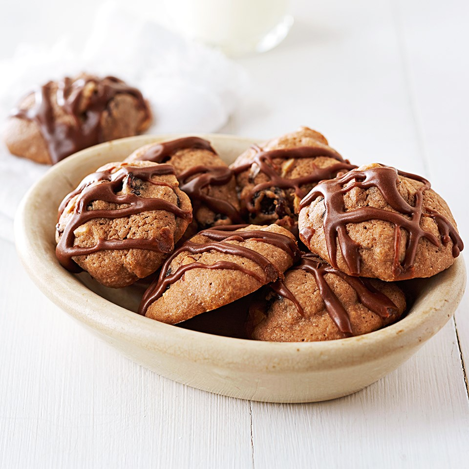 Almond-Chocolate-Cherry Cookies