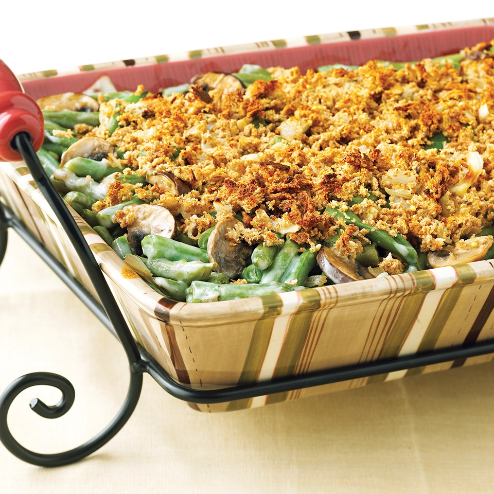Fresh Green Bean Casserole Recipe
