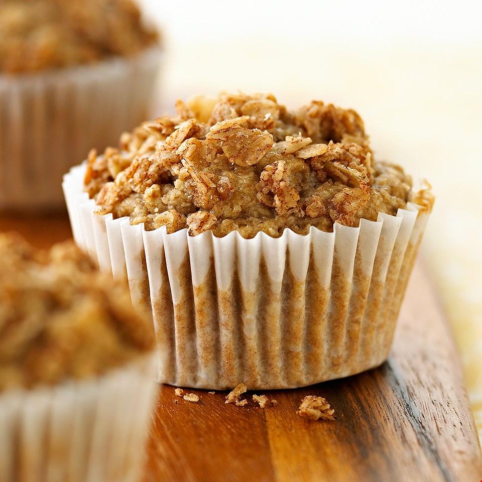 Banana-Oat Muffins