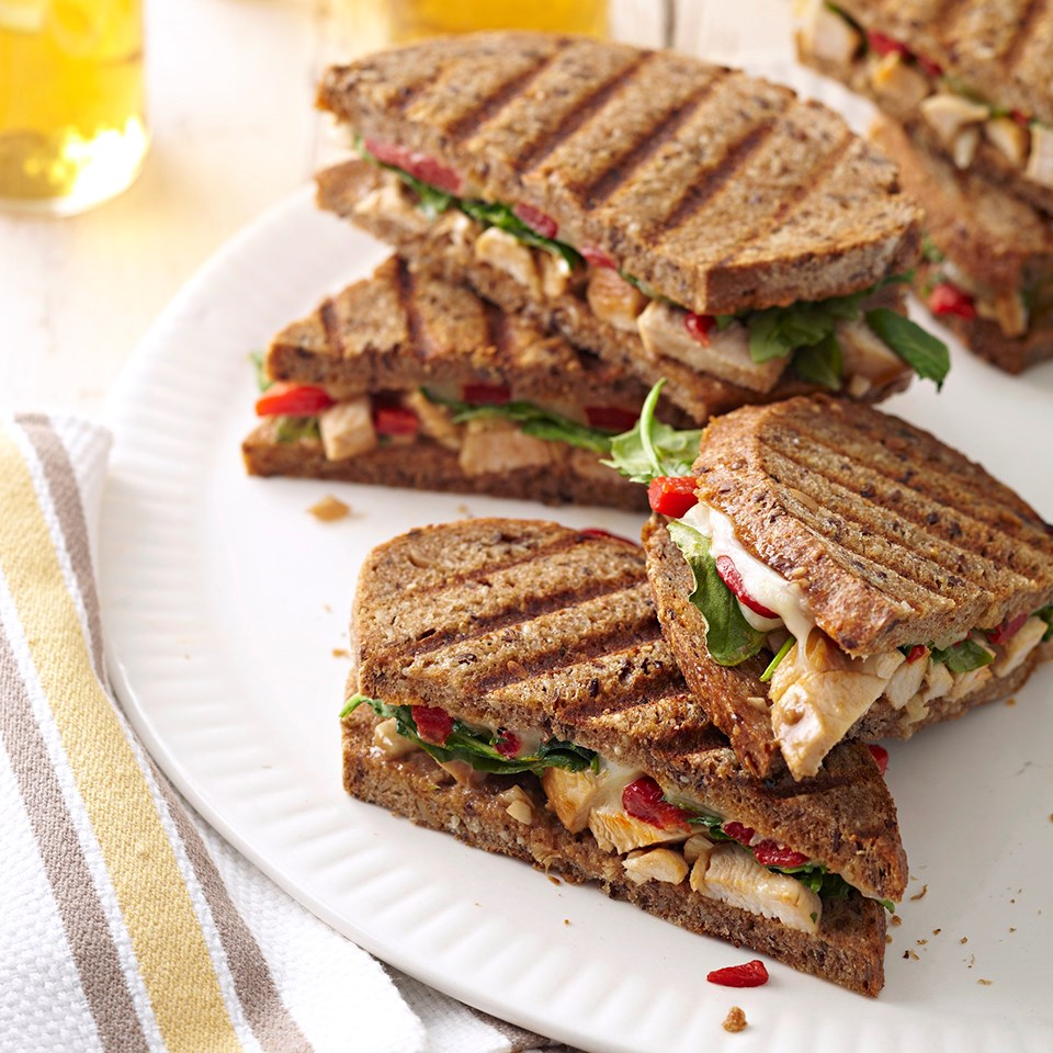 Chicken Salad Panini Sandwiches