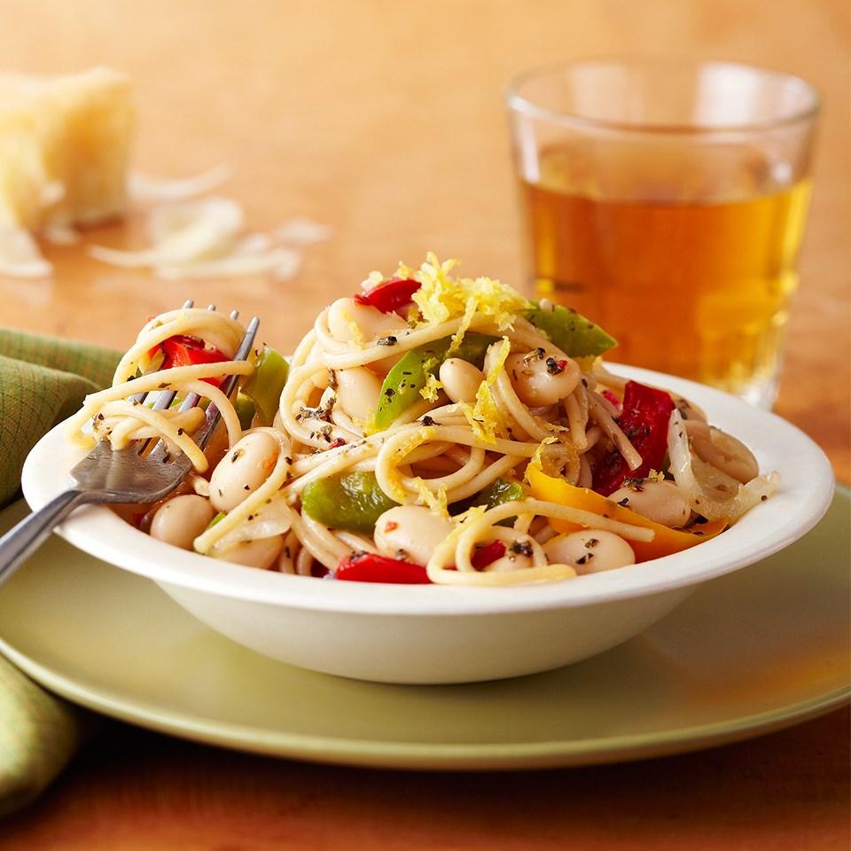 Easy Pasta and Pepper Primavera