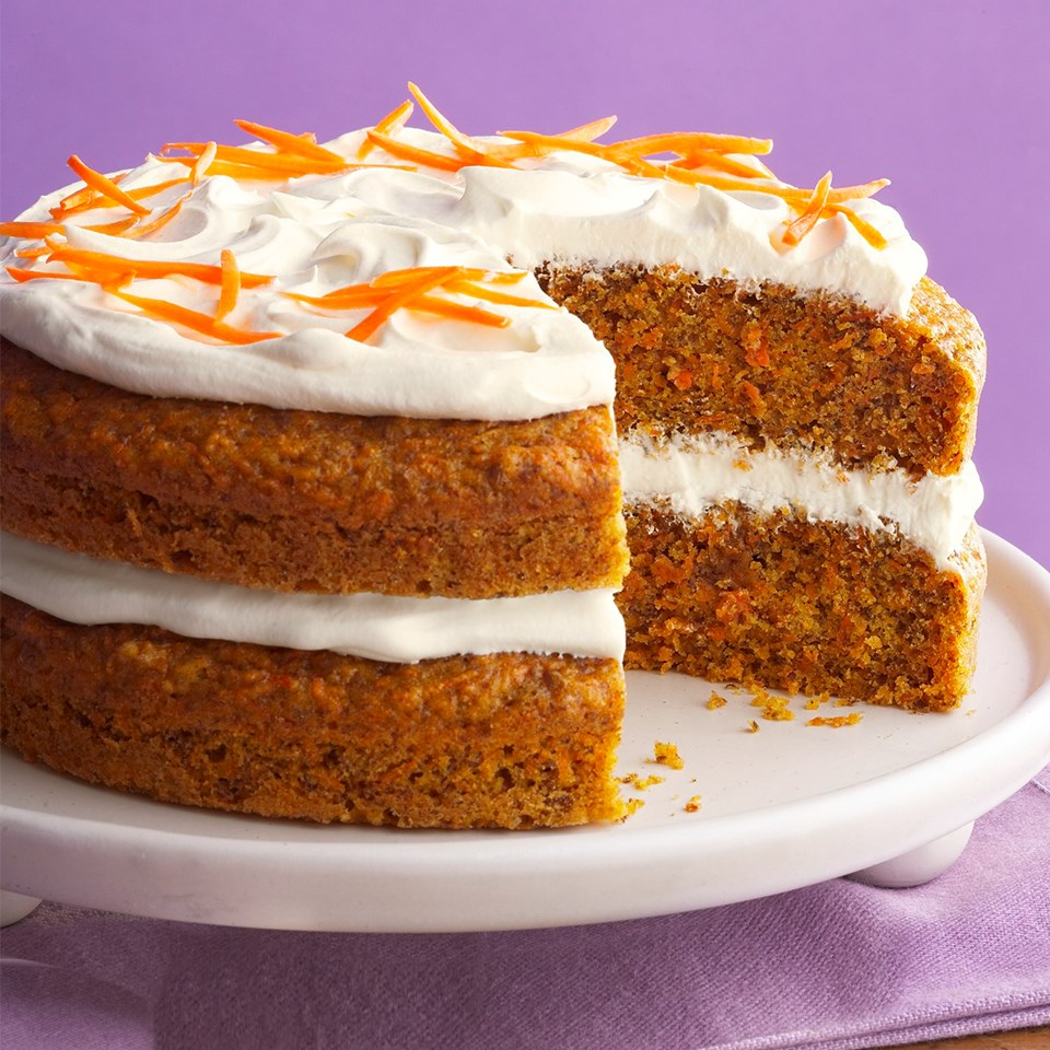 Diabetic Carrot Cake Recipe - EatingWell