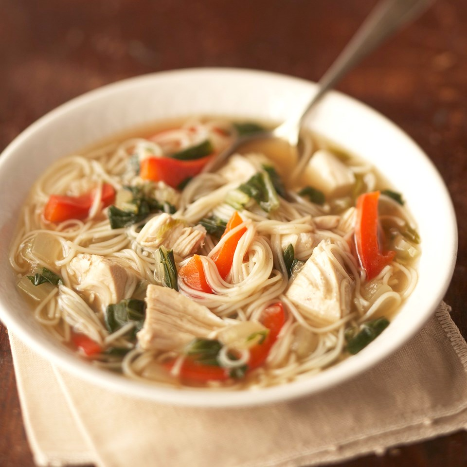 5-Spice Chicken Noodle Soup Recipe