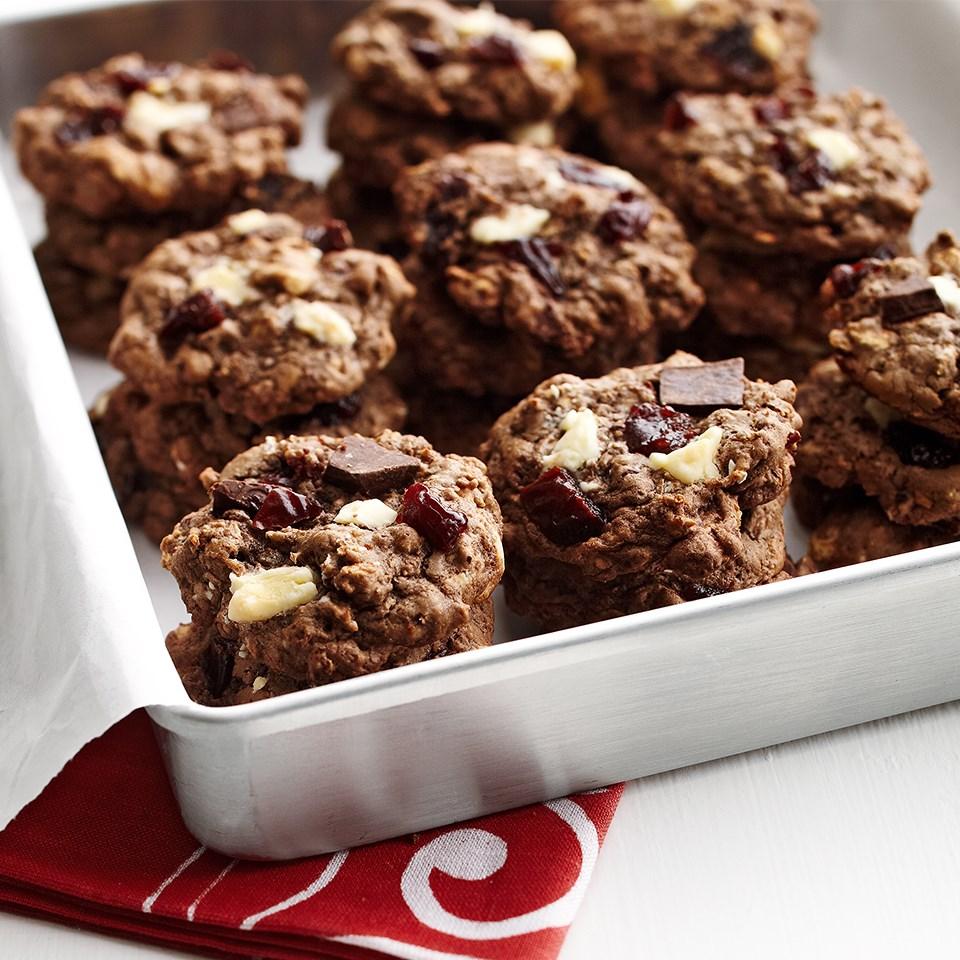 Chocolate Chunk Cherry Cookies