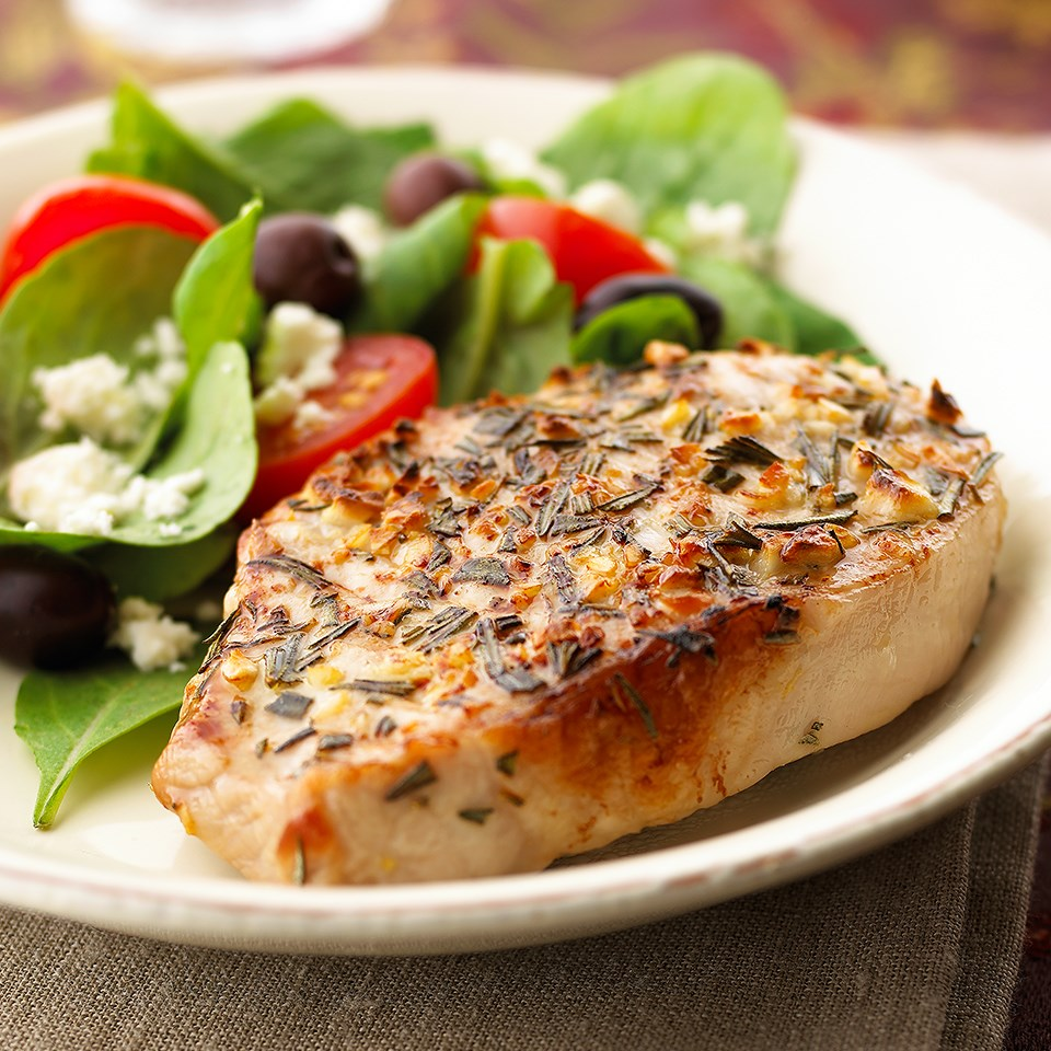 Mediterranean Pork Chops Recipe