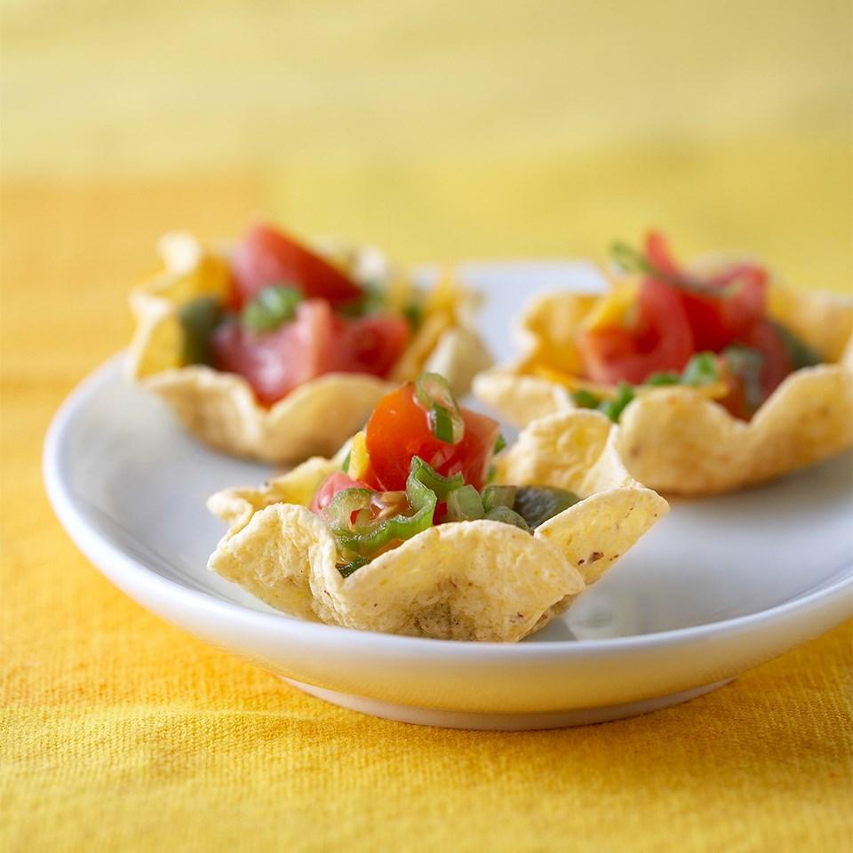 mini nacho cups