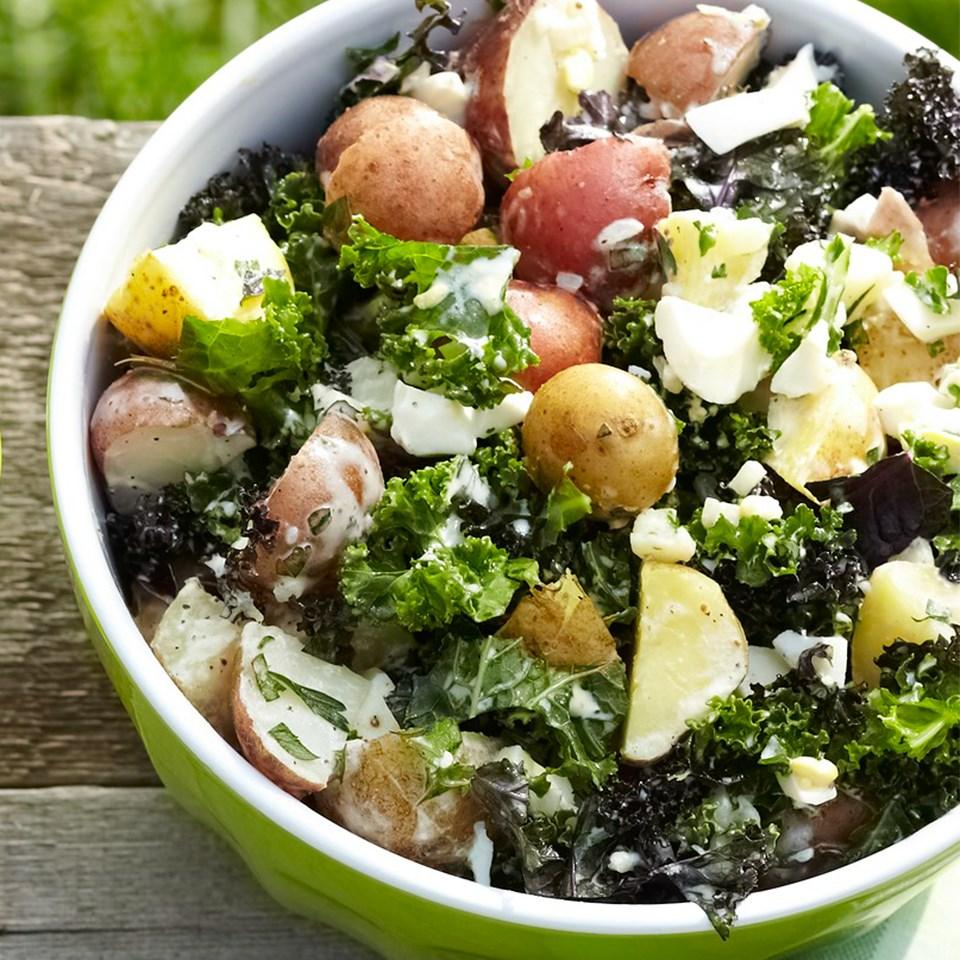 Potato-Kale Salad