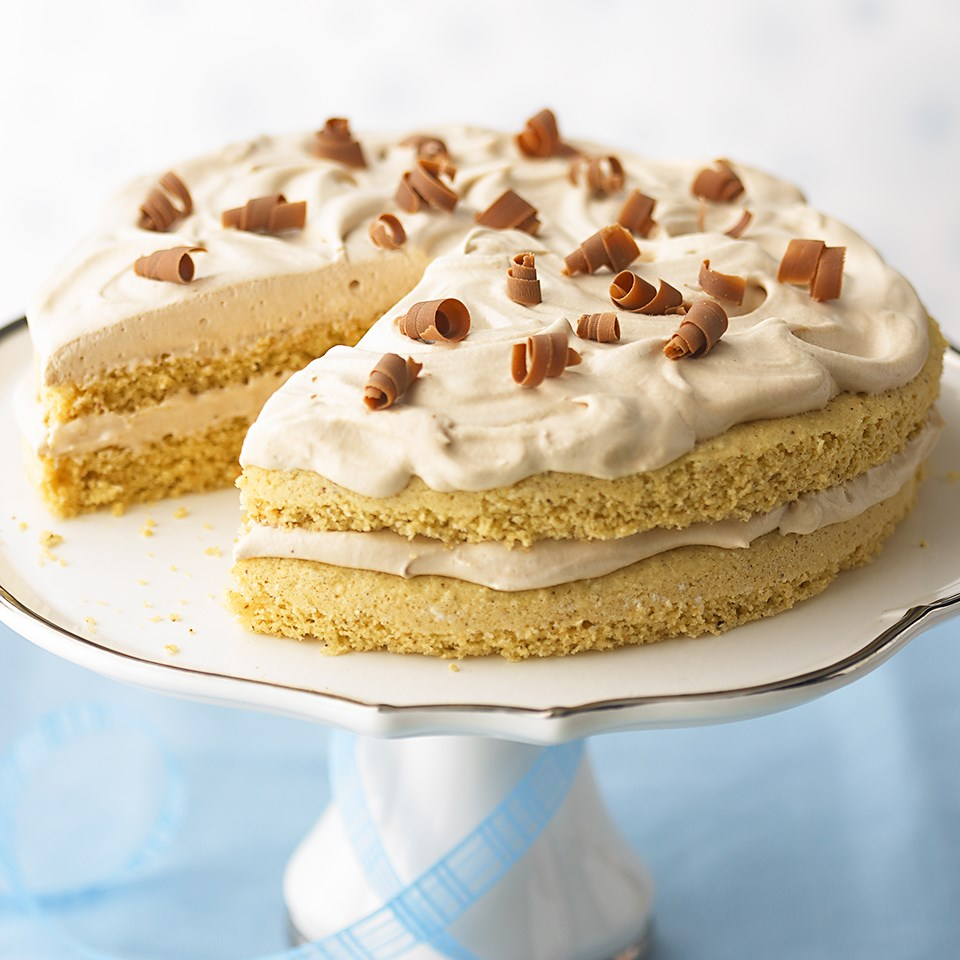 Hazelnut-Mocha Torte
