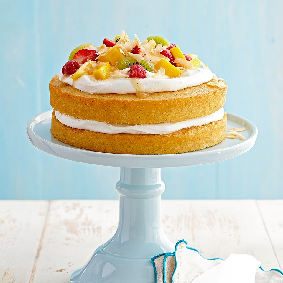 Vanilla Cake Recipe - EatingWell