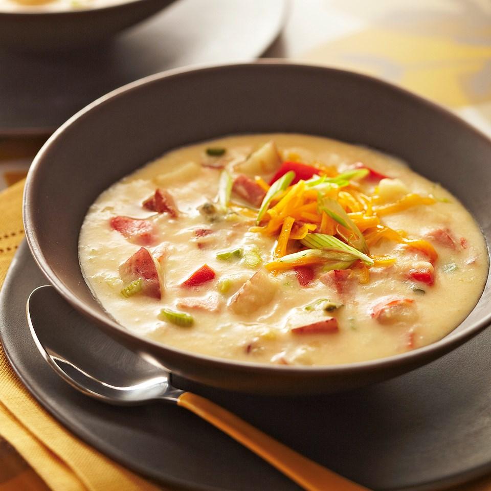 Hearty Ham and Potato Soup