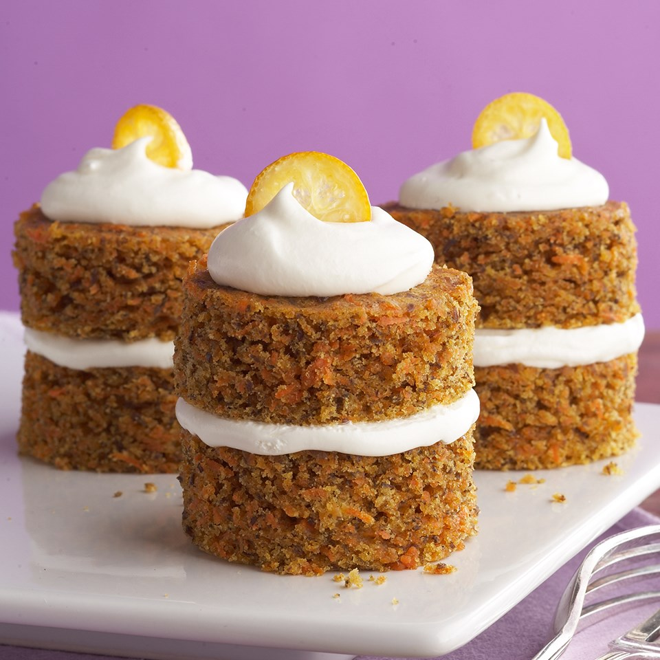 Diabetic Carrot Cake With Cream Cheese Frosting