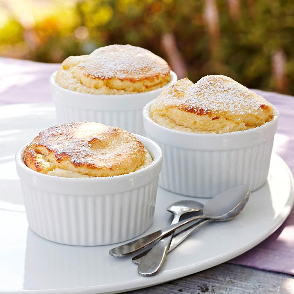 Easy Lemon Soufflés Recipe