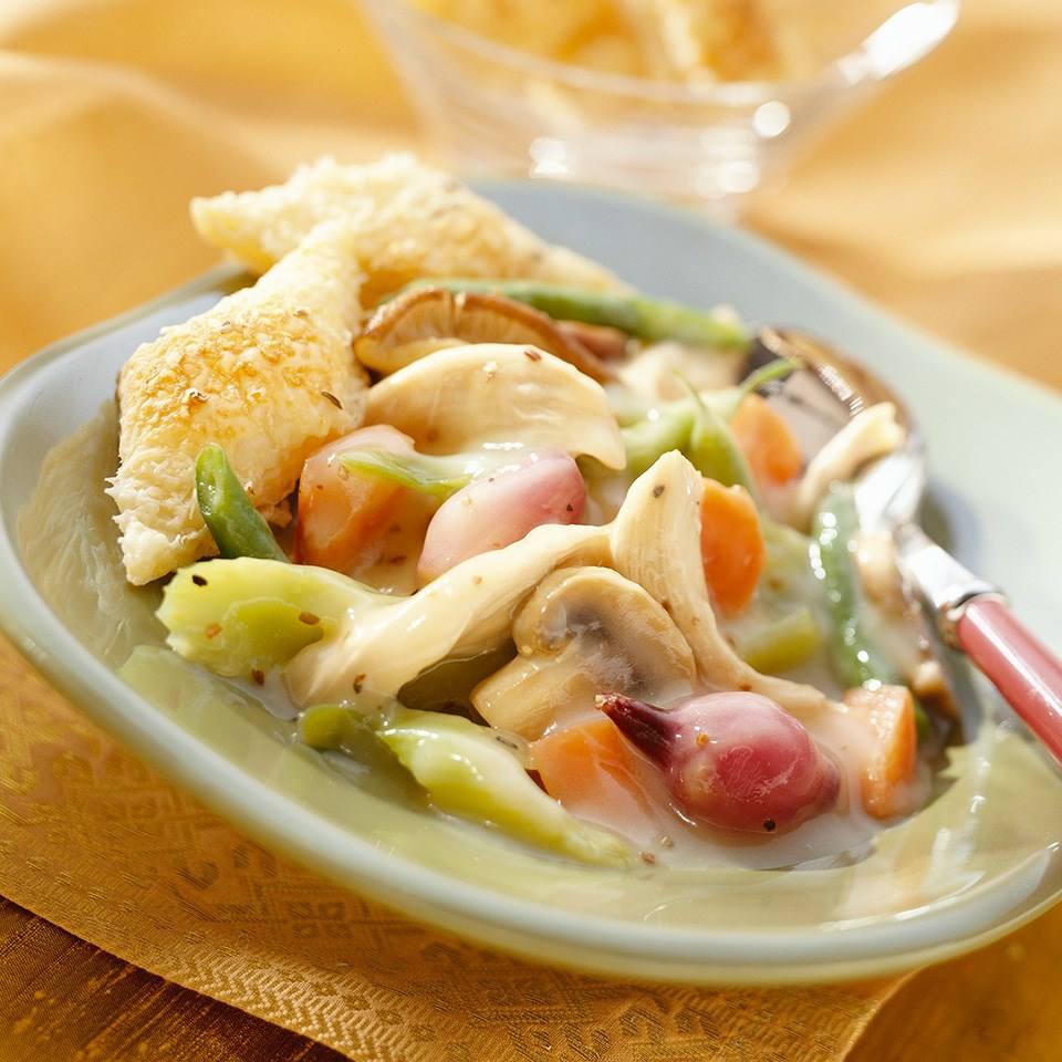 Caraway Chicken & Vegetable Stew