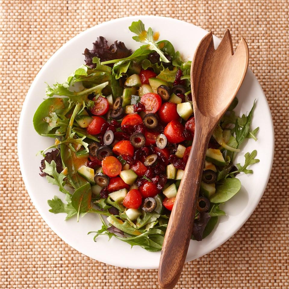 Cranberry Cucumber Salad