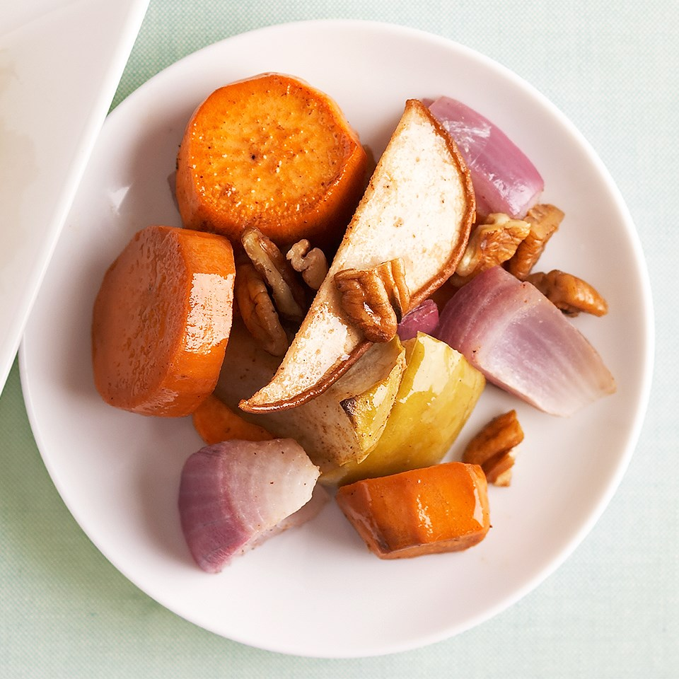 Sweet Potatoes with Fruit