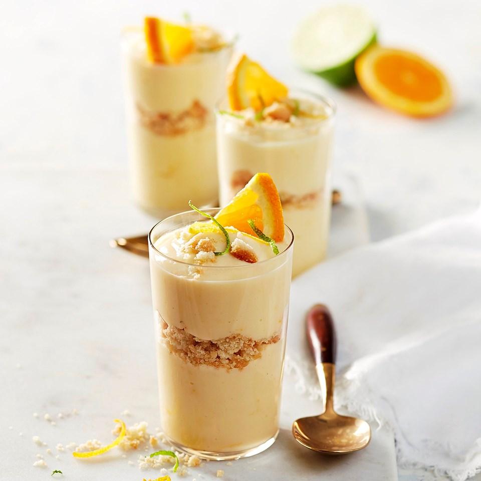Citrus Custard