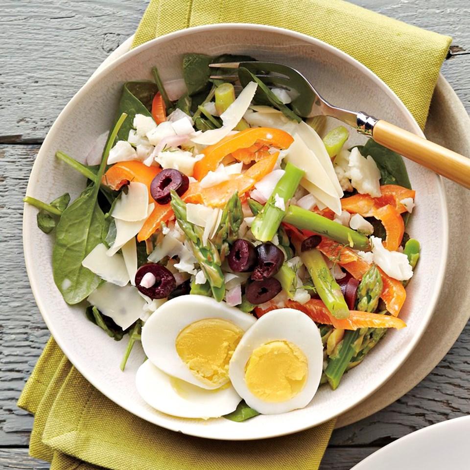 Cauliflower-Watercress Salad with Dill-Shallot Dressing