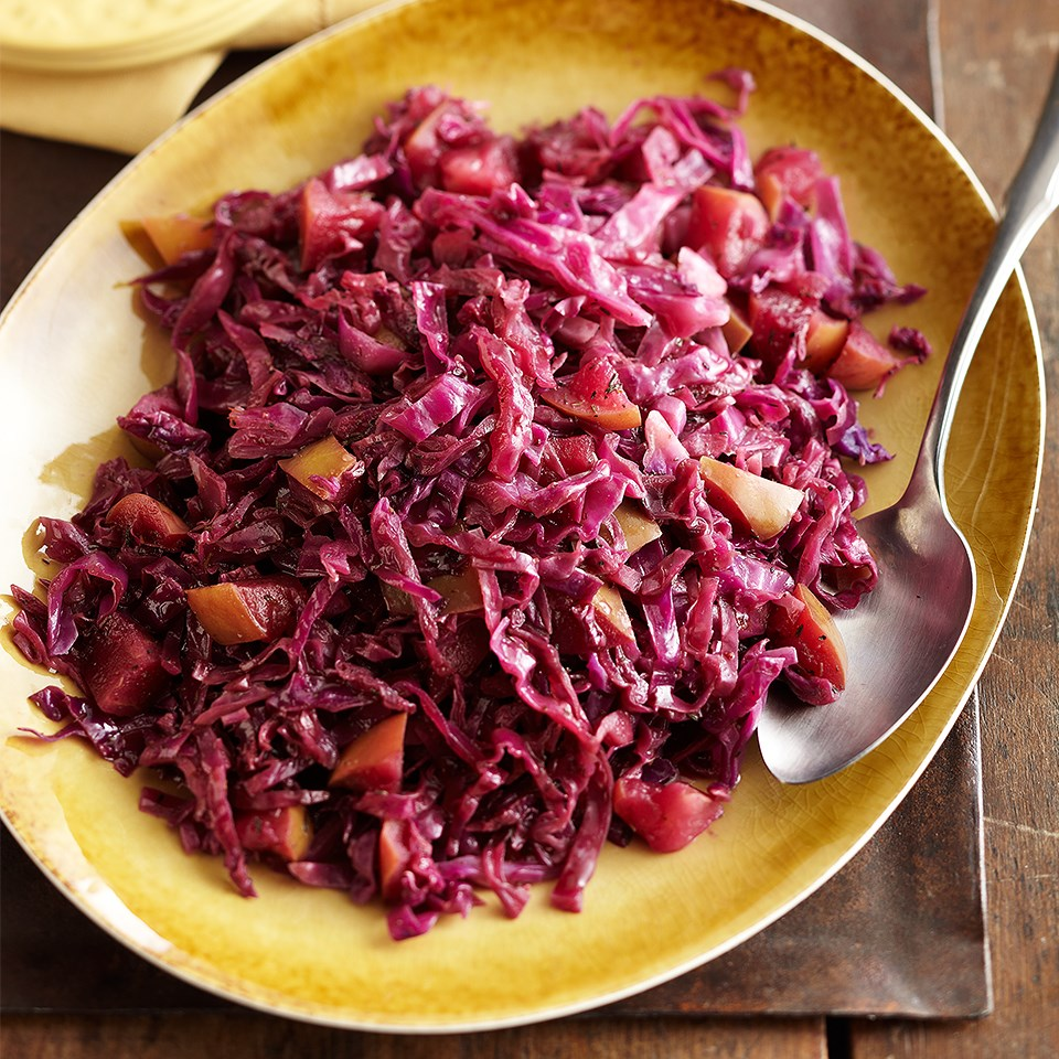 Slow-Cooked Sweet and Sour Cabbage