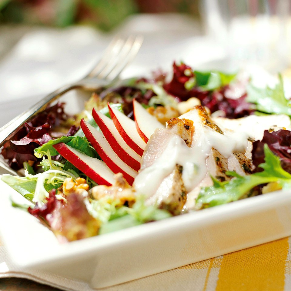 Grilled Pork and Pear Salad