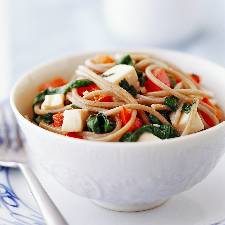 Tofu Stir-Fry with Soba Noodles