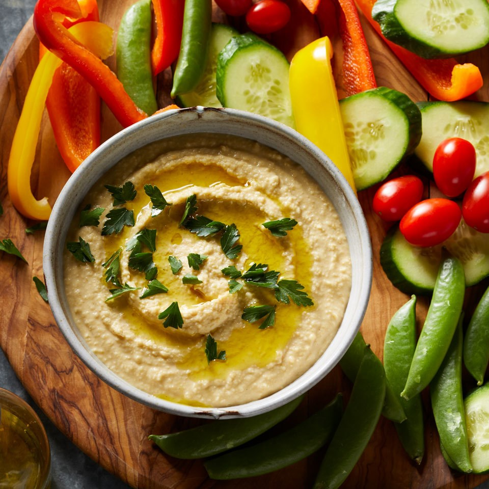 Pressure-Cooker Hummus