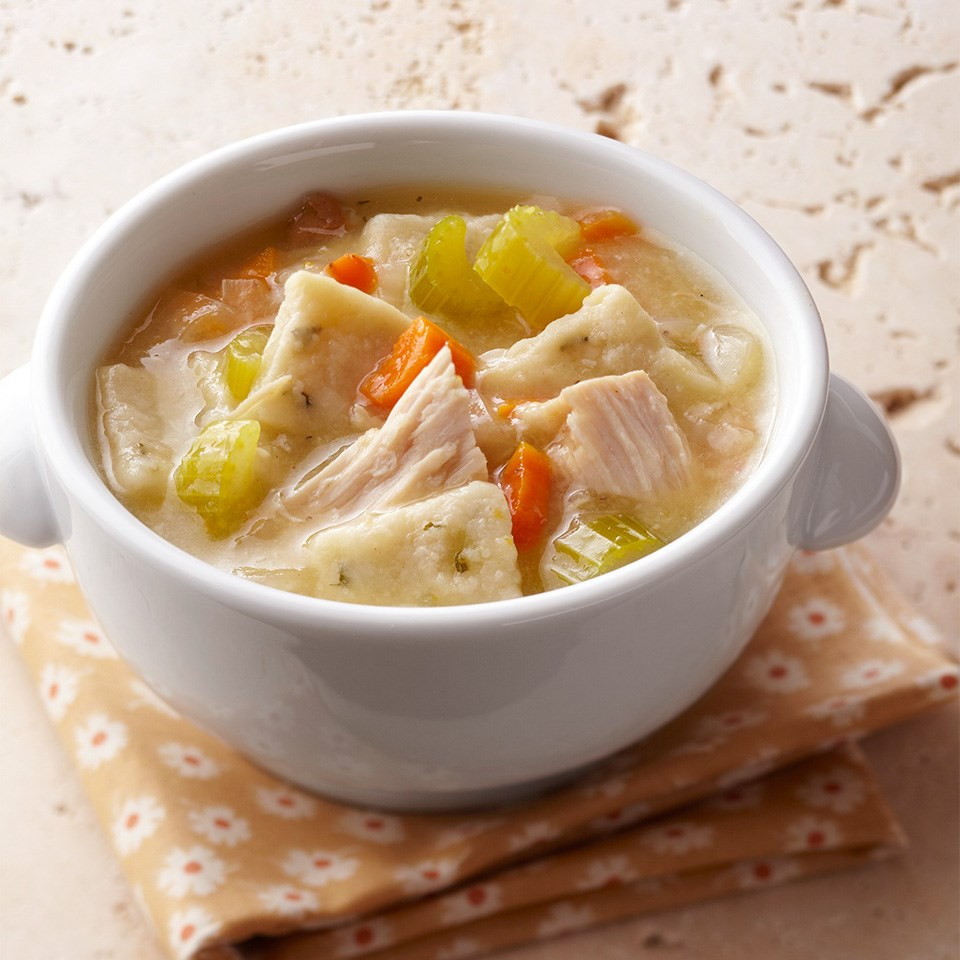 Turkey and Herb Dumpling Soup