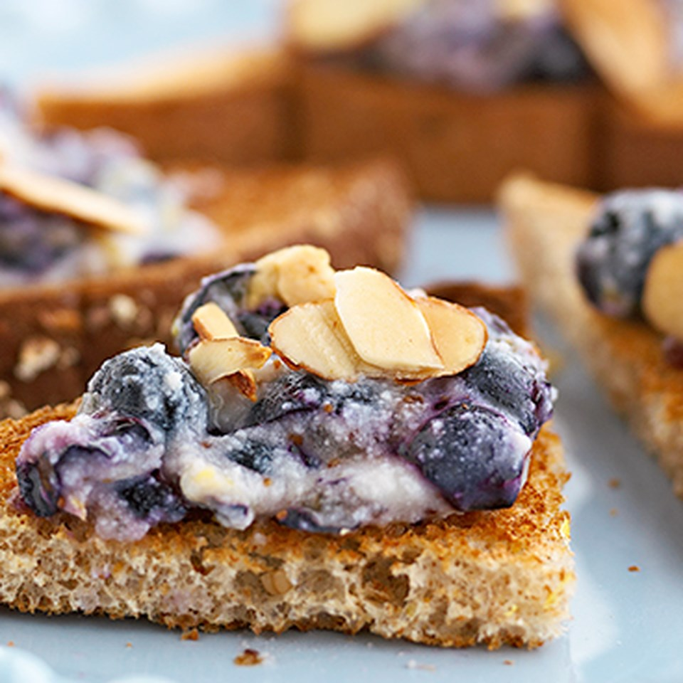 Blueberry Crostini