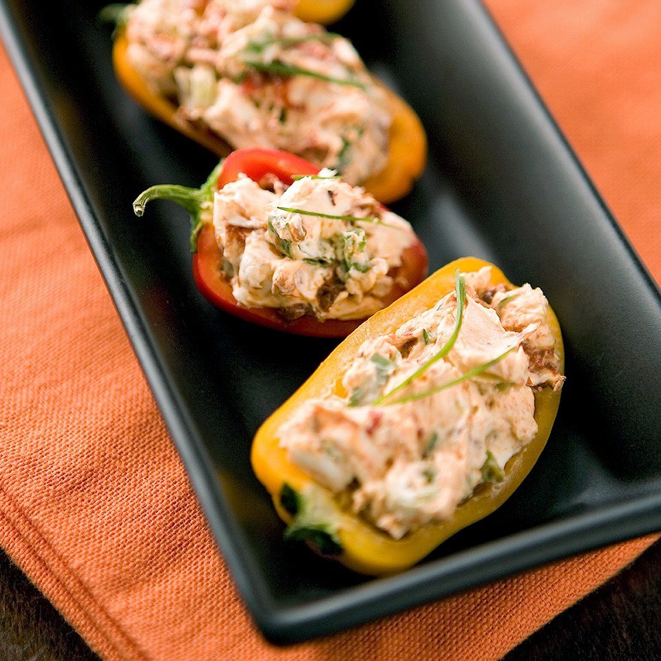 Creamy Stuffed Peppers