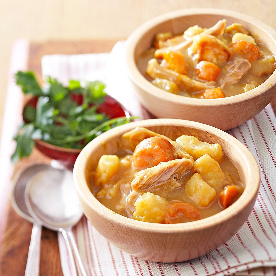 Curried Chicken and Vegetable Stew
