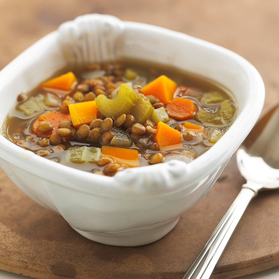 Squash And Lentil Soup Recipe Eatingwell