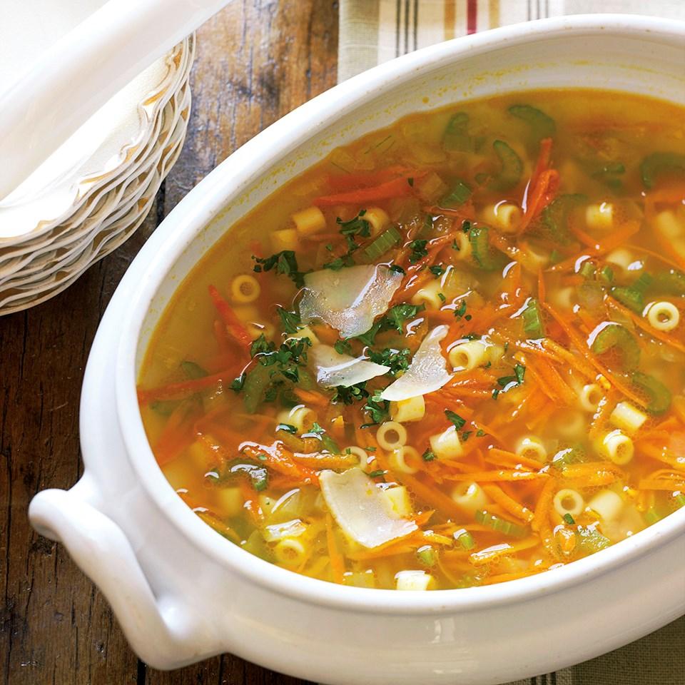 Vegetable Pasta Soup