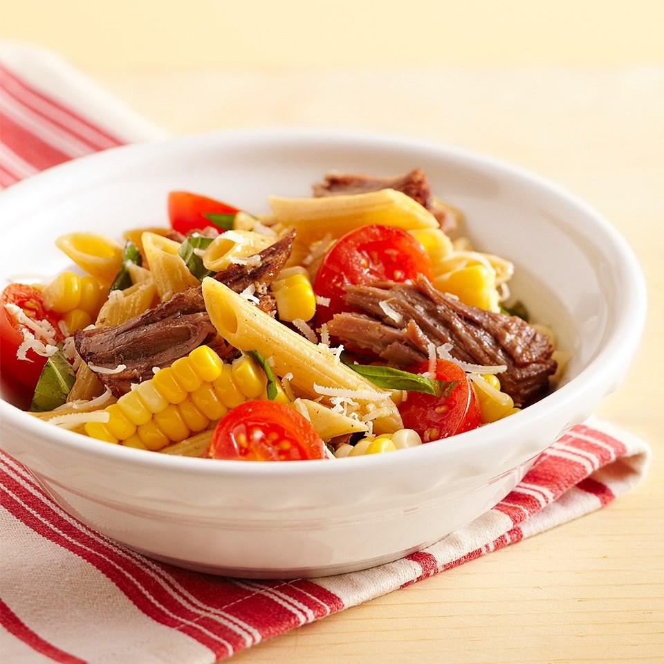 Beefy Pasta Salad