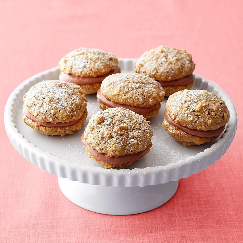 Chocolate-Hazelnut Whoopie Pies