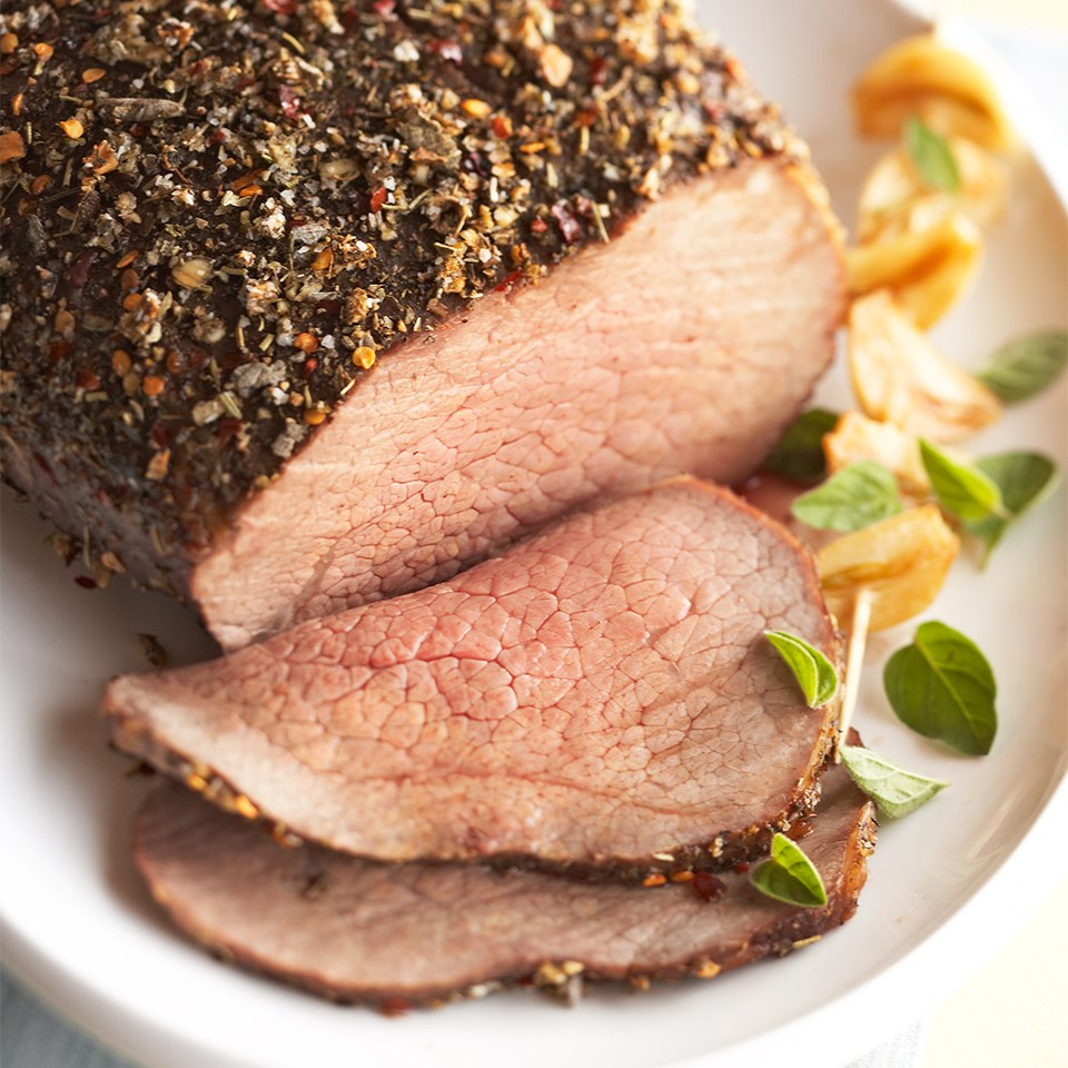 Herb-Pepper Rubbed Beef