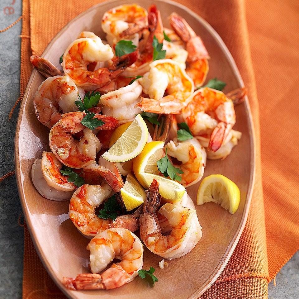 Marinated Shrimp Scampi