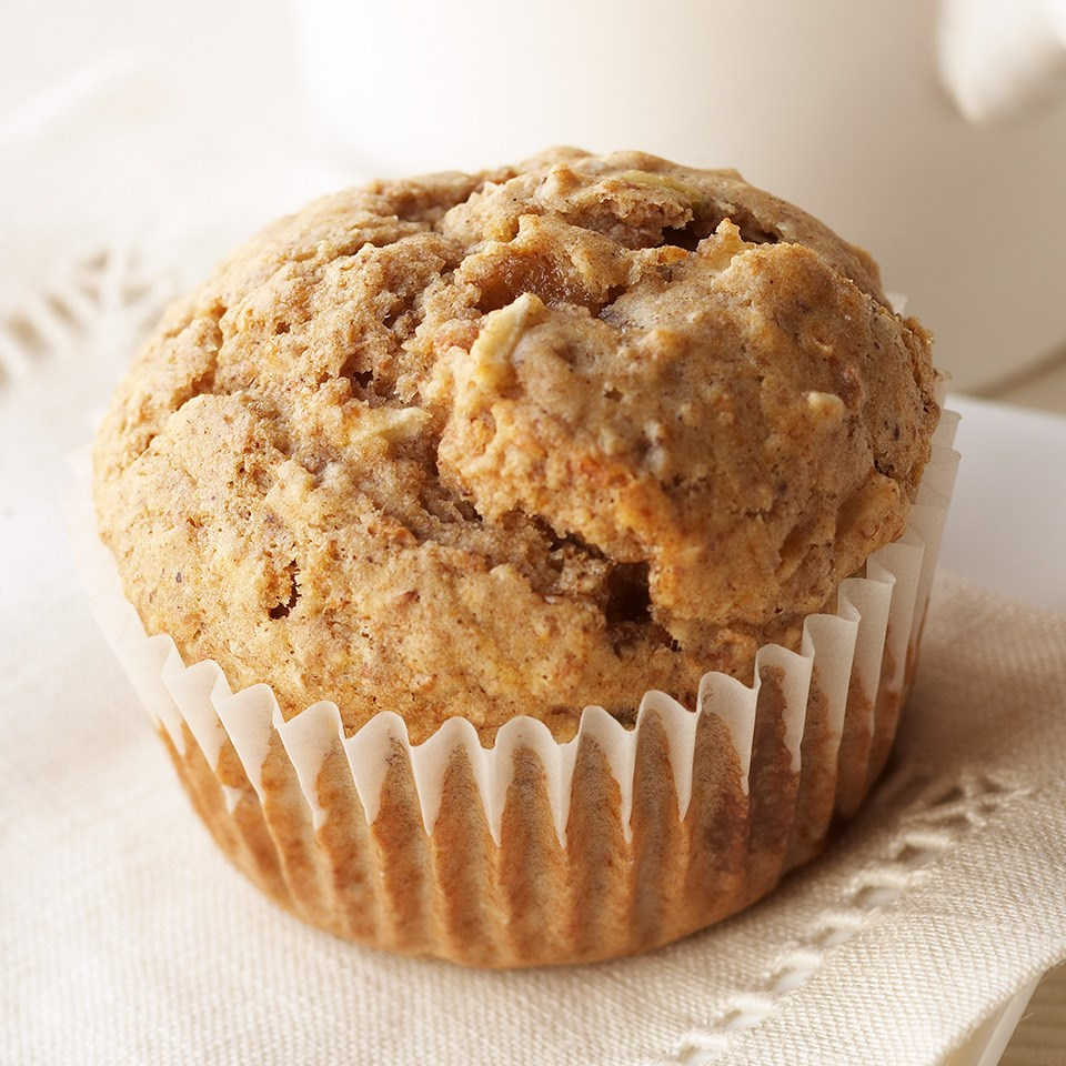 Spicy Apple-Kasha Muffins