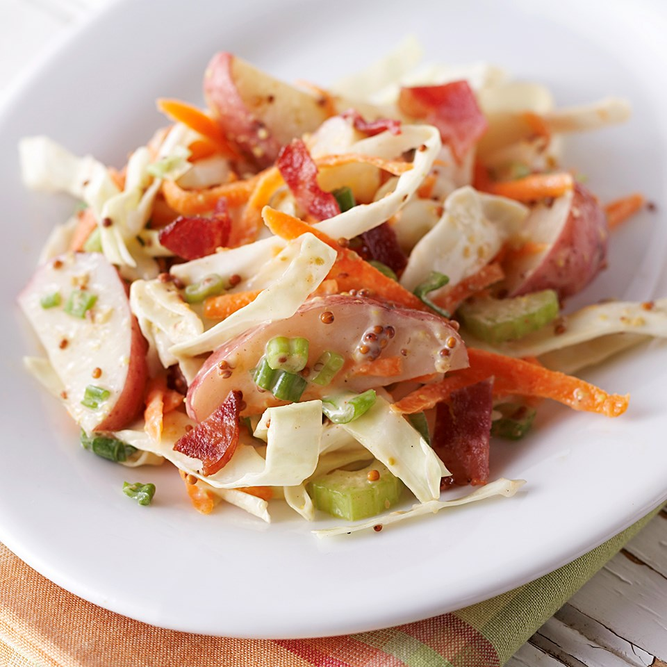 New Potato-Cabbage Salad