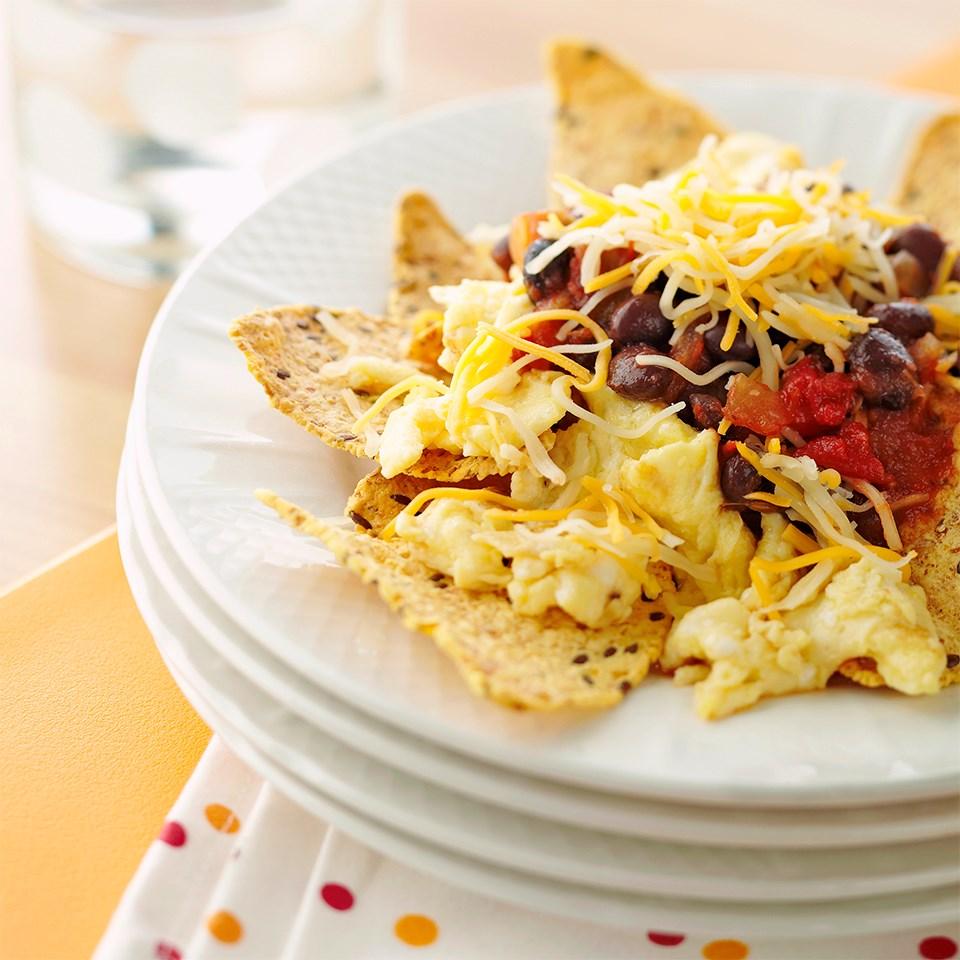 Huevos Rancheros Breakfast Nachos