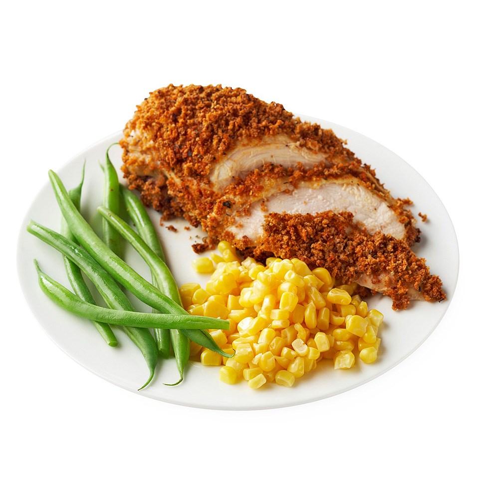 Panko-Crusted Chicken