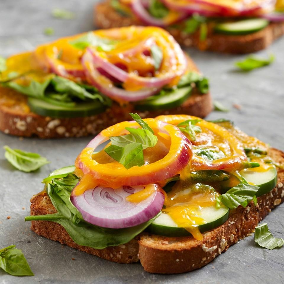 Veggie-Cheese Sandwiches