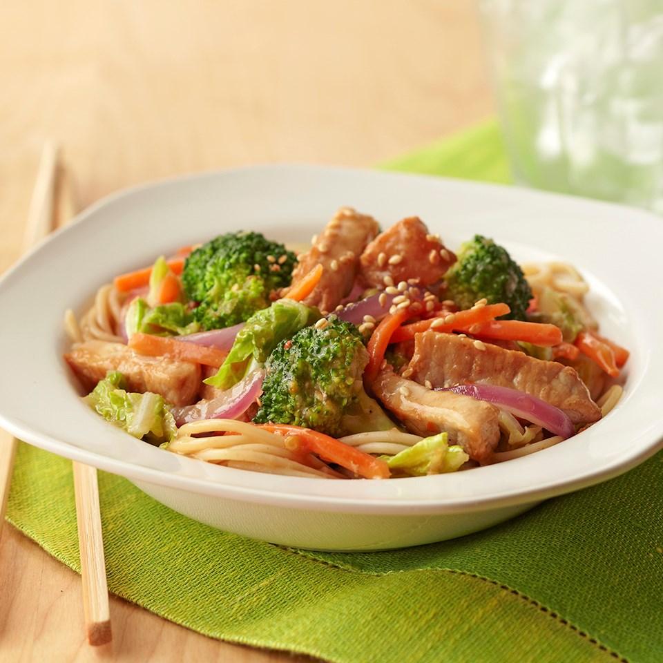 Sweet Asian Pork Stir-Fry