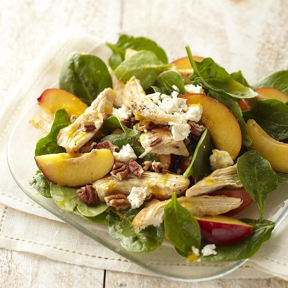 Chicken & Nectarine Salad