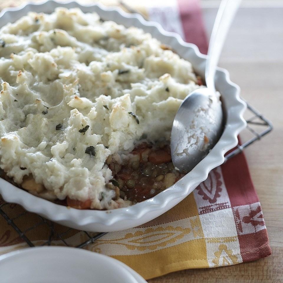 Lentil & Veggie Shepherd's Pie