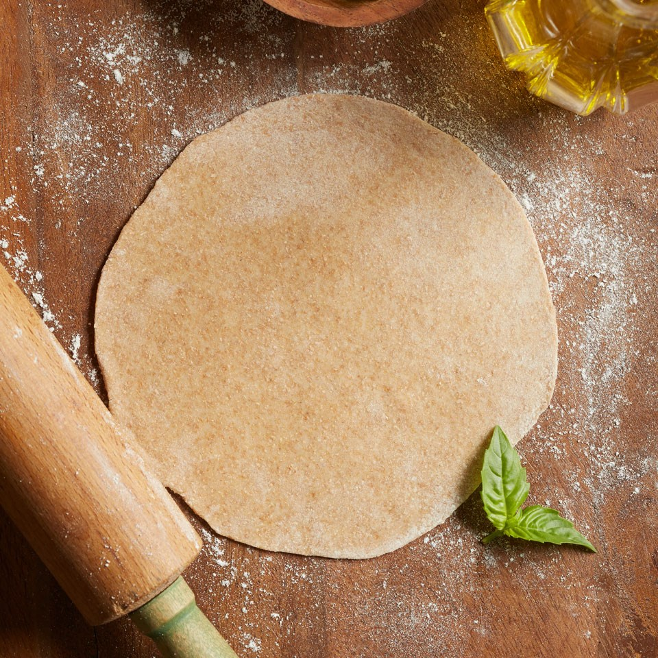 Whole-Wheat Individual Pizza Crusts