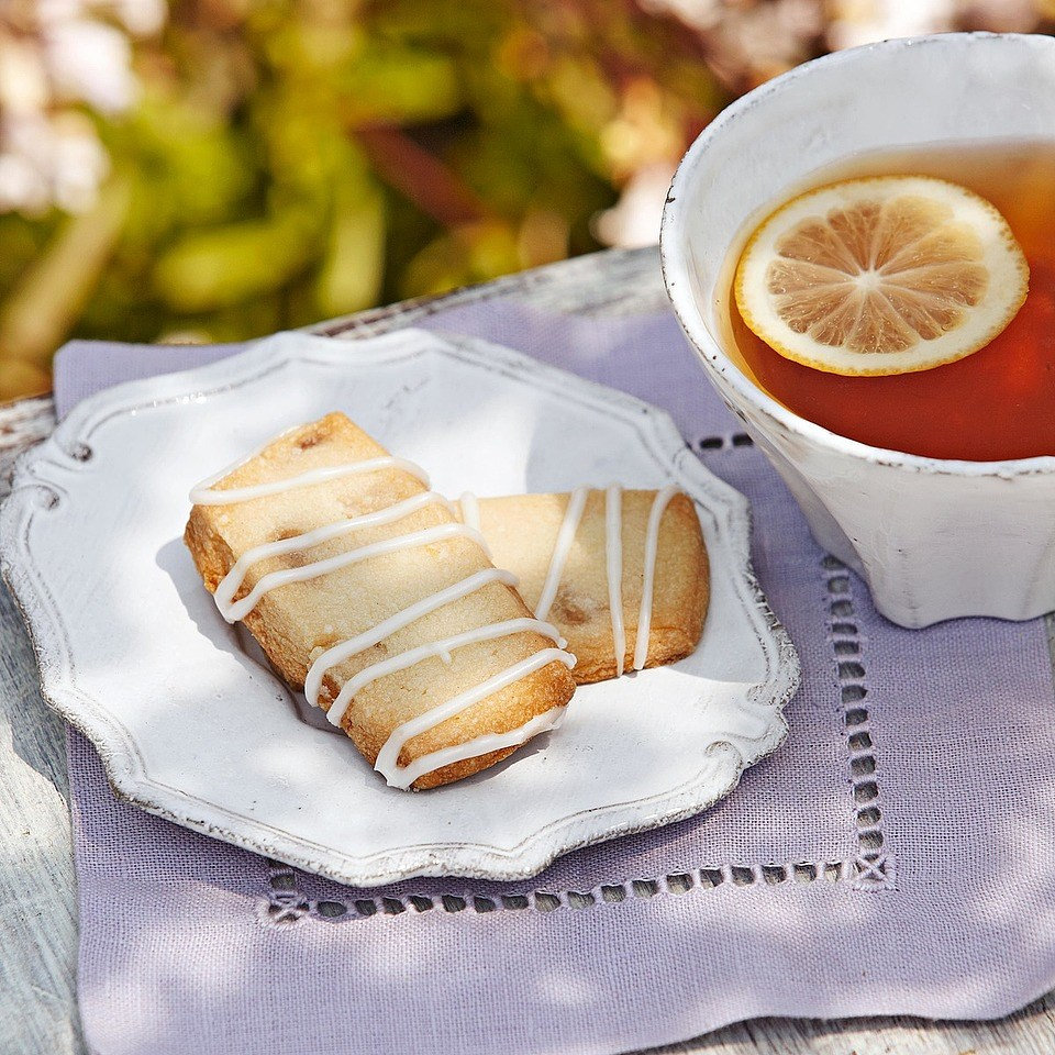 Lemon-Ginger Shortbread