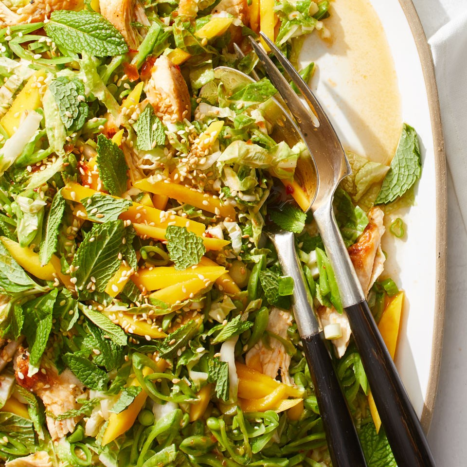 Crunchy Chicken Mango Salad