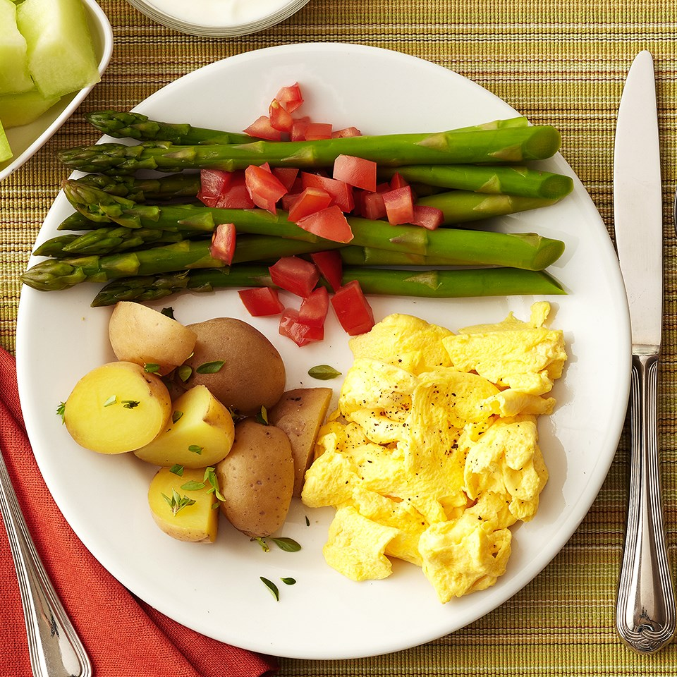 Egg and Potato Breakfast