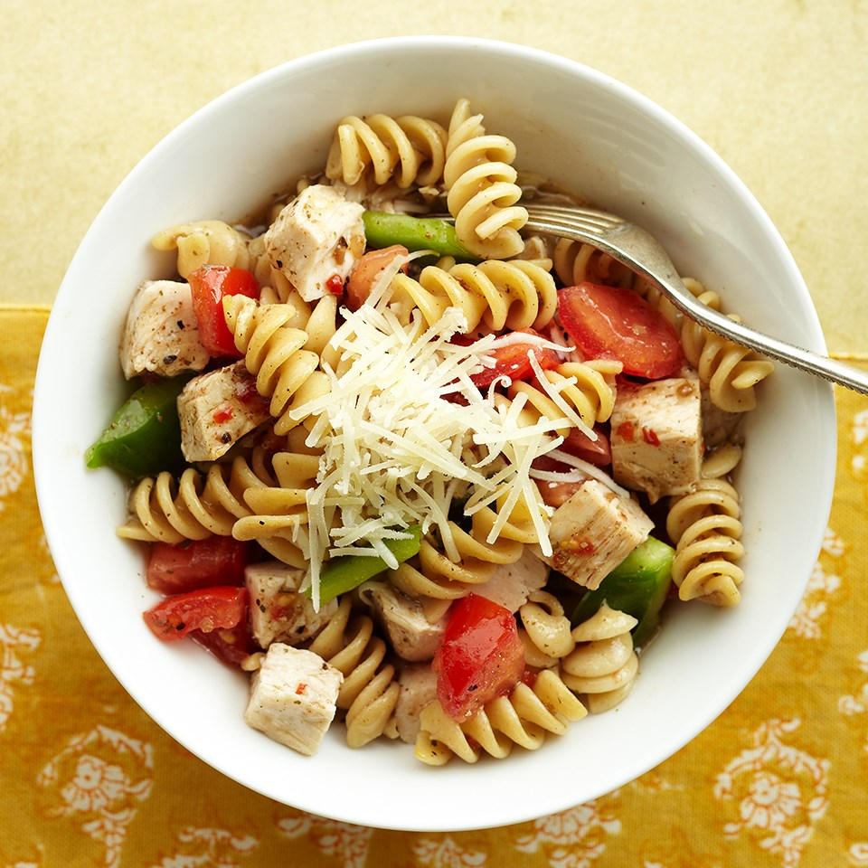 Chilled Rotini Salad